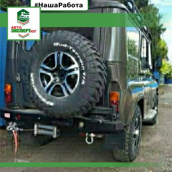 Установка обвеса на УАЗ - Авто-эксперт ЮГ - Профессиональная помощь для автовладельцев